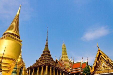 pra: Wat pra kaew  Stock Photo