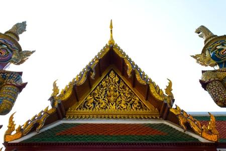 kaew: Wat pra kaew  Stock Photo