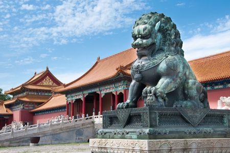 The Forbidden City, Beijing, China. Stock Photo