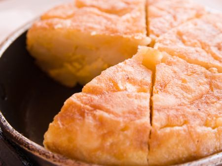 Spanish Tortilla or Spanish Omelette. photo