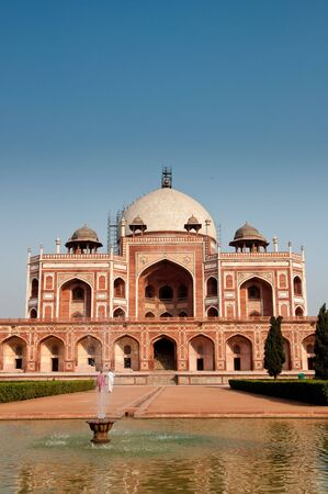 Humayuns Tomb in New Delhi, India.