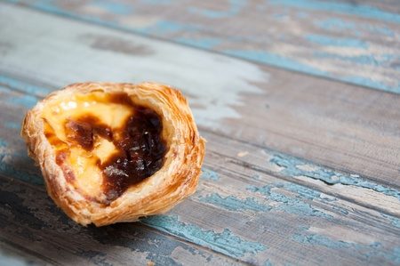Pasteis de nata  or Portuguese Egg Custard Tart  A delicious sweet pastry originating in Portugal but also popular in Asia, especially Hong Kong and Macau
