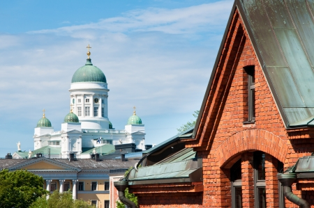 The Lutheran Cathedral on Senate Square, Helsinki