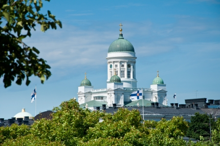 lutheran: The Lutheran Cathedral on Senate Square, Helsinki