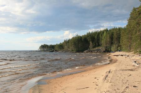onega: shore of Lake Onega