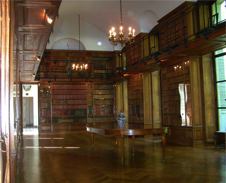 classify: private library in a french castle