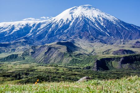 Volcano Plosky Tolbachik, Kamchatka