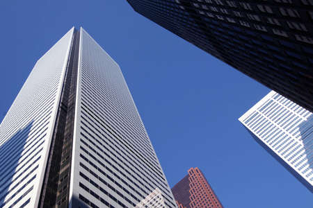 newage: Skyscrapers office building in downtown Toronto Ontrario Canada Stock Photo
