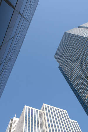 Skyscrapers office building in downtown, Toronto ,Ontrario, Canada photo