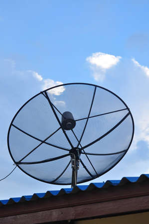 Satellite dish Stock Photo - 13369491