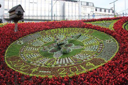 Flower clock 2014 in Edinghburgh