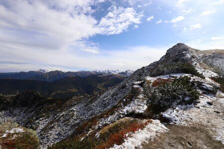 Mountain panorama above the Reiteralm Standard-Bild