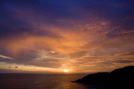 phrom: Sunset at Laem Phrom Thep, Phuket, Thailand