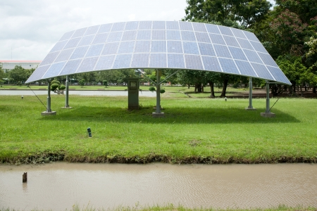 conserving: Solar cell
