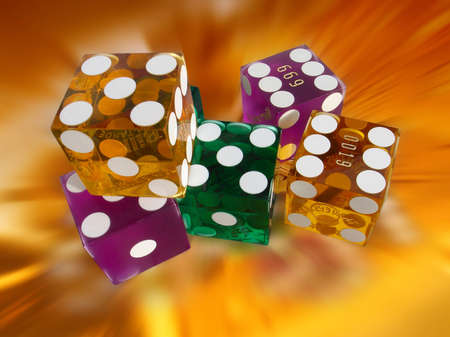 historians: Dice are credited by several historians as the oldest gambling device invented by man
