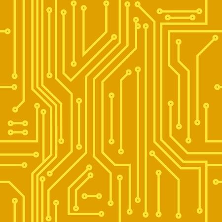 silicio: Resumen de antecedentes sin fisuras de color amarillo