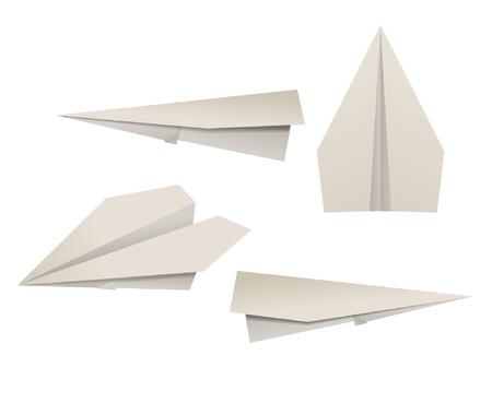 Paper planes Stock Vector - 11226525