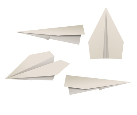 throwing paper: Paper planes