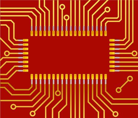 circuito electrico: Equipo de fondo tablero