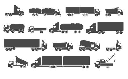 truck crane: Truck set