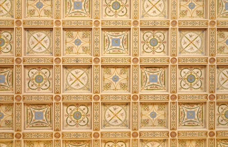 hermitage: Ceiling in Hermitage. Russia Editorial