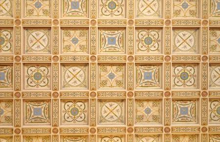 italian fresco: Ceiling in Hermitage. Russia Editorial