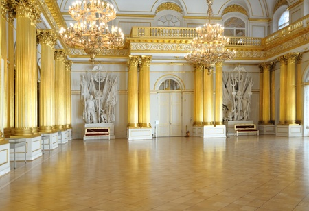 hall:  he famous world art-gallery State Hermitage museum. Russia