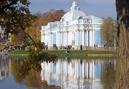 selo: Grotto in Tsarskoe Selo, near Saint-Petersburg