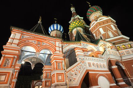 Saint Basil Cathedral in Moscow Stock Photo - 11227788