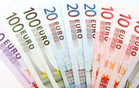 european union currency: Euro banknotes