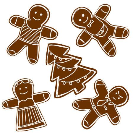 gingerbread cake: Gingerbread cookies