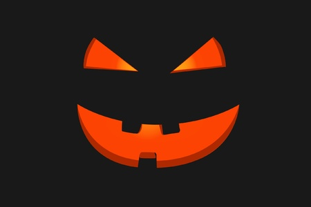 helloween face Vector