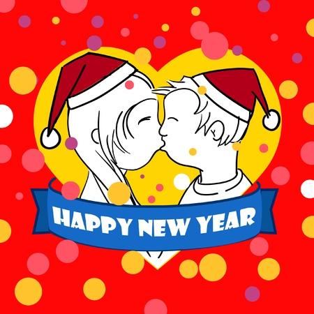 new love: Happy New Love card