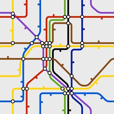 Nền liền mạch của chương trình tàu điện ngầm