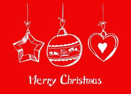 Happy Christmas card Stock Vector - 11259084