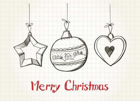 Happy Christmas card Stock Vector - 11259348