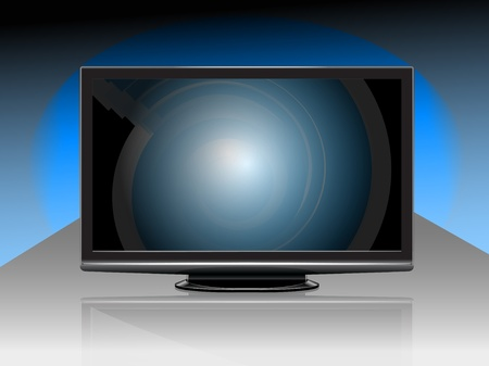 definition: modern High Definition tv-set