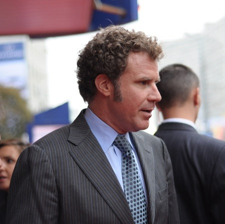 arrives: MOSCOW, RUSSIA - SEPTEMBER 12: Actor Will Ferrell arrives at the premiere for the film  Editorial