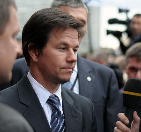 MOSCOW, RUSSIA - SEPTEMBER 12: Actor Mark Wahlberg arrives at the premiere for the film