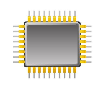 Vector de chips Ilustración de vector