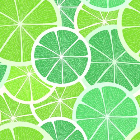 ripened: Citrus seamless background. Lime