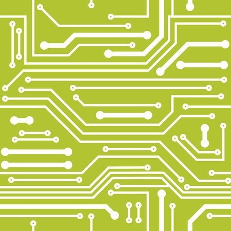 semiconductors: Computer chip background Illustration