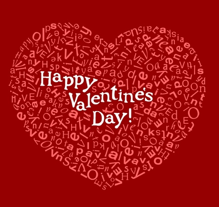 Happy valentine card Stock Vector - 11258900