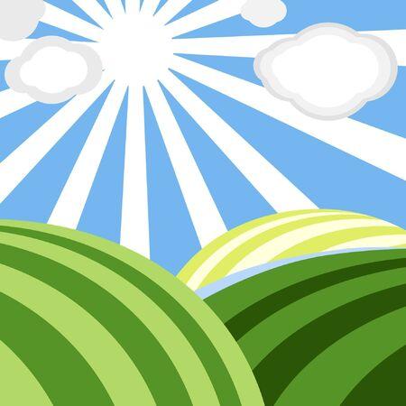Vector landscape Stock Vector - 11259023