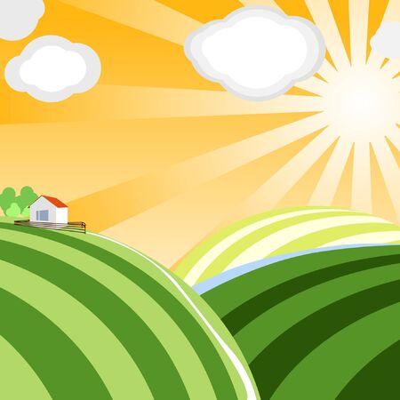 Vector landscape Stock Vector - 11259025