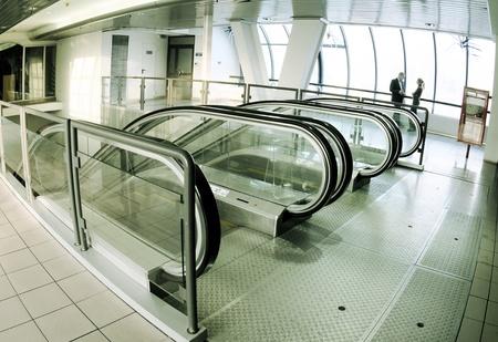 Escalator hall