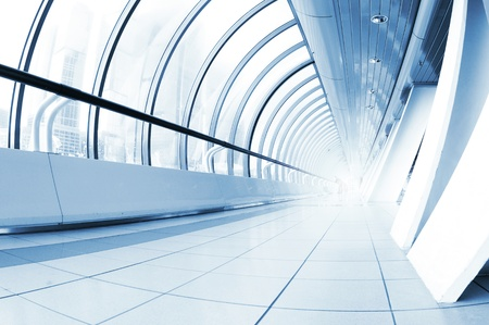 Perspective view of a long corridor Stock Photo - 11260068
