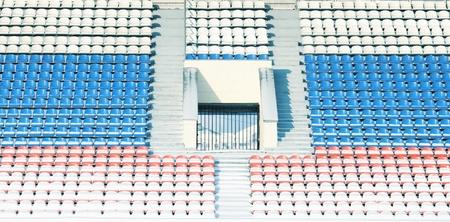 grandstand: Empty stadium