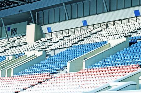 vago: Vacant seats in stadium Editorial