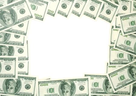 Money frame photo